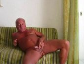 Smooth Sexy Dad Cums on his Thigh